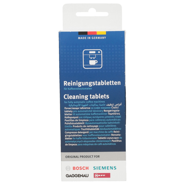 Tabletki czyszczące Bosch Siemens TZ60001 310575 do ekspresu