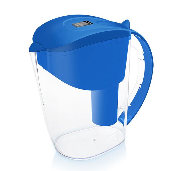 Dzbanek filtrujący Wessper AquaClassic 3,5 l niebieski +10 wkładów Aquaclassic
