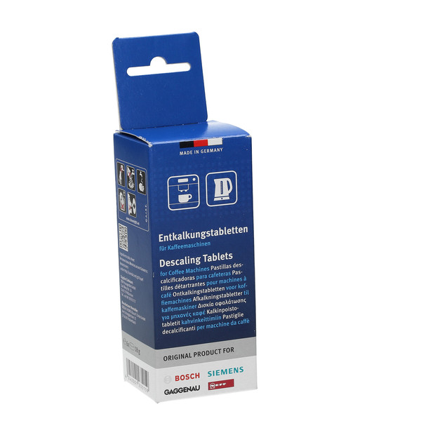 Odkamieniacz w tabletkach do ekspresu do kawy Krups F889 (Bosch, Oryginał)