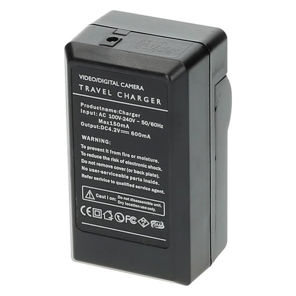 Ładowarka do aparatu Panasonic Lumix DMC-TZ4 (Pure Power, 4.2 V, 0.6 A)