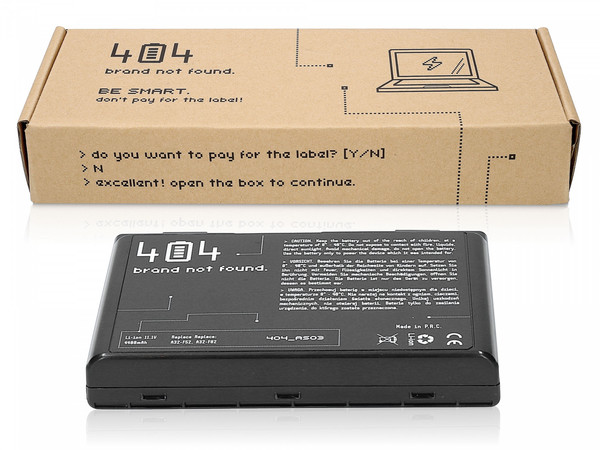 Bateria do laptopa Asus K50IJ-SX003A (4400 mAh, Li-Ion, 10.8 V)