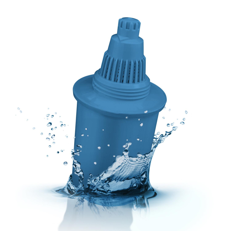 Wkład filtrujący do dzbanka Wessper Aquapro Alkaline niebieski 4 sztuki