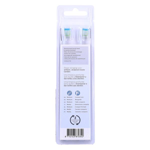 Końcówki do elektrycznej szczoteczki Philips Sonicare R732 (Philips, DiamondClean)