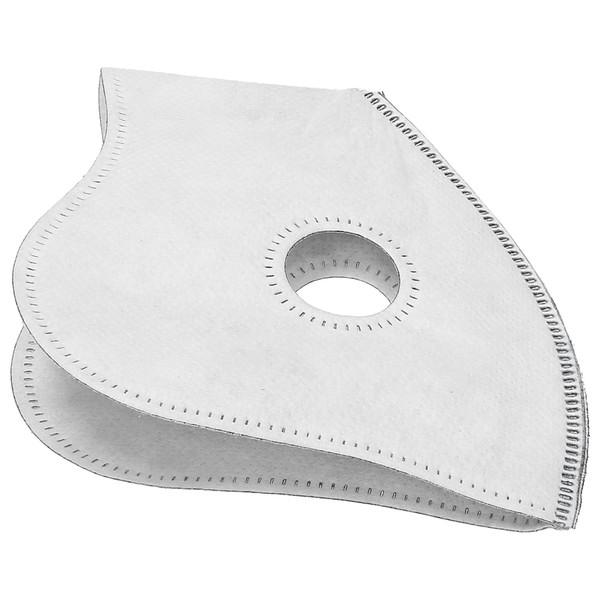 Maska sportowa antysmogowa antypyłowa Wessper - biała
