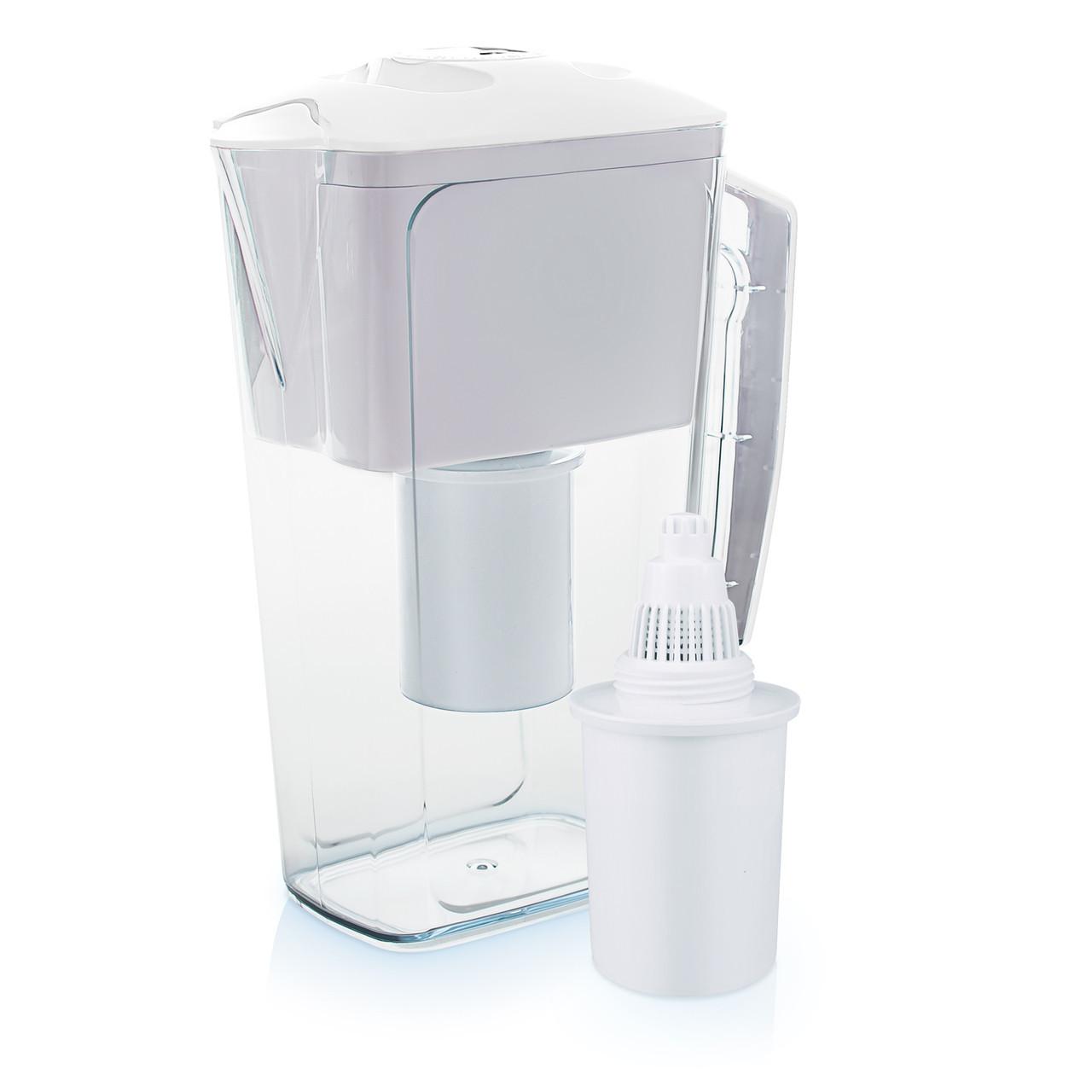Dzbanek filtrujący Wessper AquaPro 2,5 l biały, alkaliczny