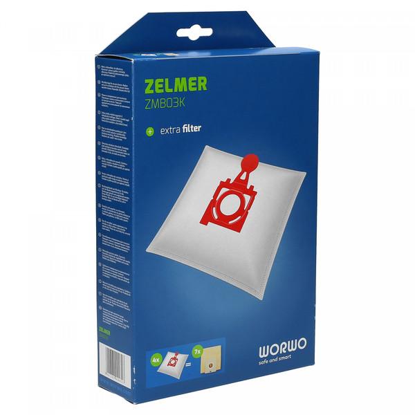 Worki do odkurzacza Zelmer Solaris Twix (Worwo, Syntetyczne)