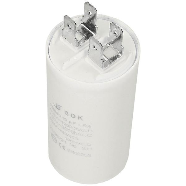 Kondensator rozruchowy do silnika 10uf 450V