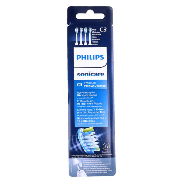 Końcówki Philips Sonicare C3 PlaqueDefence HX9044 4 szt