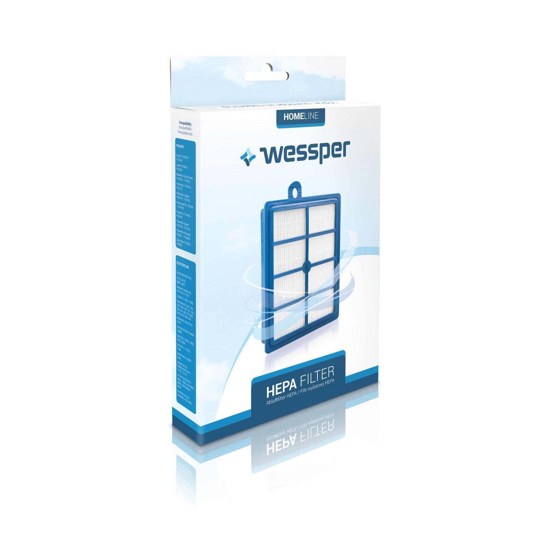 Filtr HEPA Wessper do odkurzacza Electrolux, Philips FC9194, FC9071 FC9170