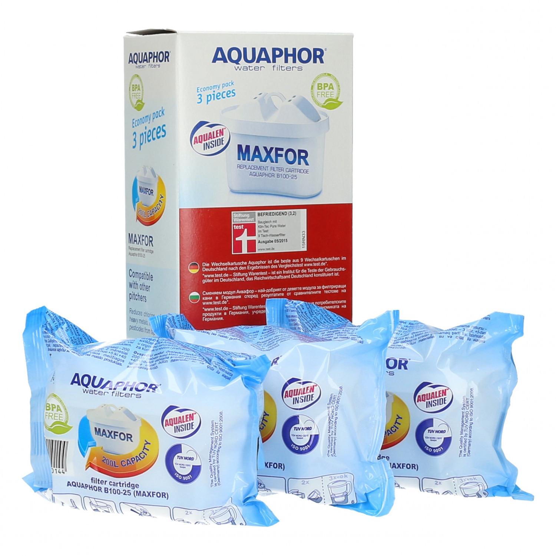 Filtr wody Aquaphor Maxfor B100-25 do dzbanka - 3 szt.