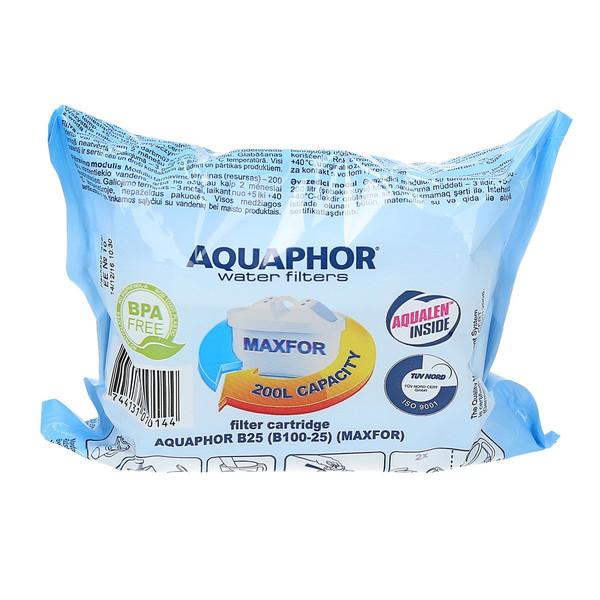Filtry wkłady Aquaphor Maxfor B100-25 Brita Maxtra Dafi komplet 3 sztuk