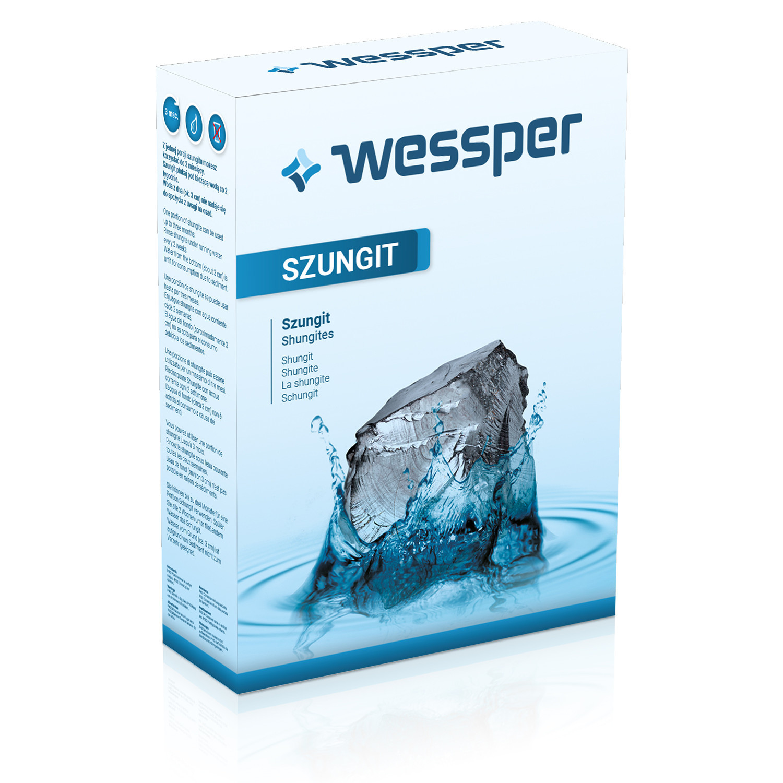 Szungit Wessper naturalny filtr wody 500g