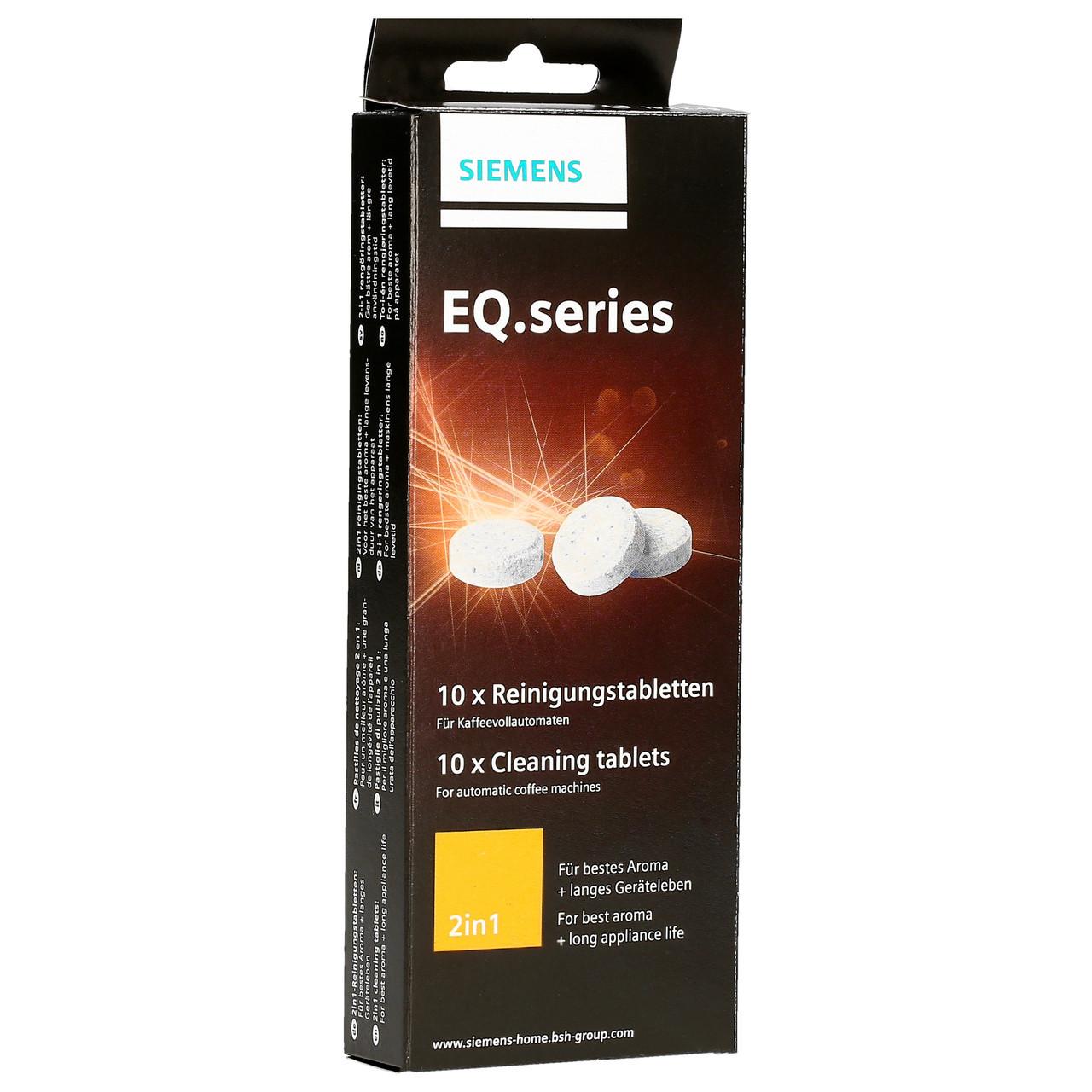 Tabletki czyszczące do ekspresu Bosch, Siemens TZ80001 2w1