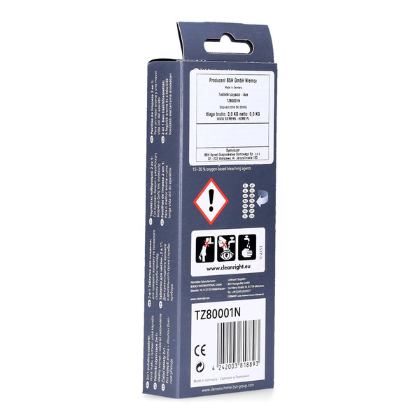 Odtłuszczacz do ekspresu do kawy Siemens TK56001/01 (Bosch-Siemens, Oryginał)