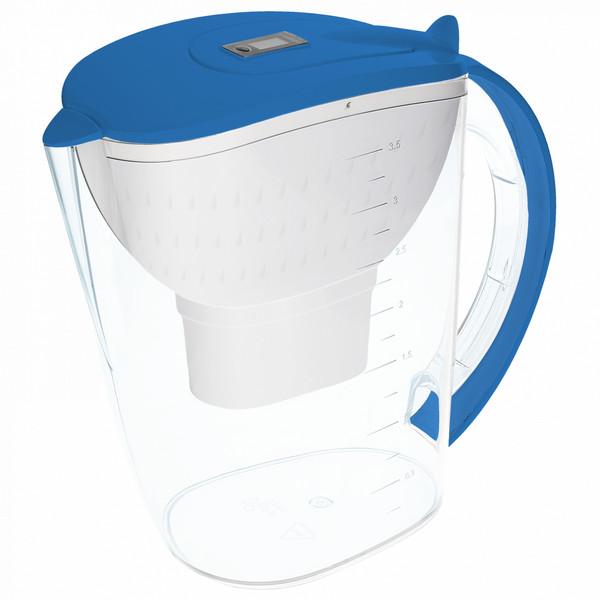 Dzbanek filtrujący Wessper AquaMax 3,5l niebieski