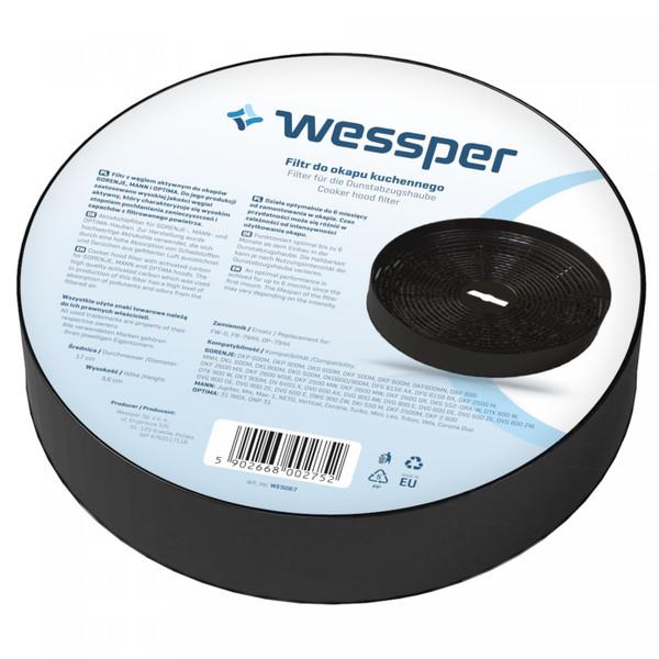 FIltr do okapu Gorenje DVG 6545 MX (Okrągły, Węglowy)