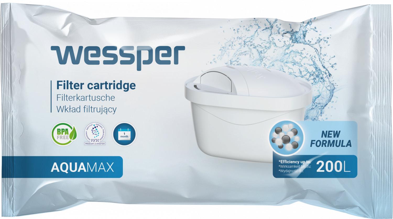 4x Filtr wkład wody Wessper AquaMax do Brita Maxtra Aquaphor B100-25 Dafi Unimax