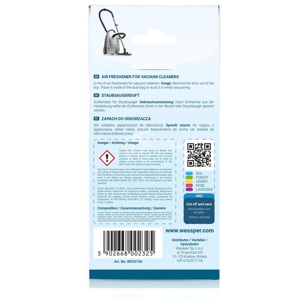 Zapach do odkurzacza Philips FC8453 (Wessper, Mieszany)