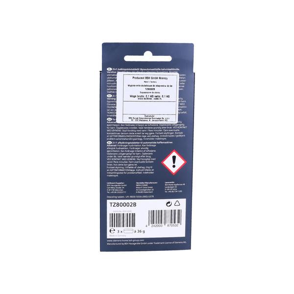 Odkamieniacz w tabletkach do ekspresu do kawy Krups F889 (Bosch-Siemens, Oryginał)
