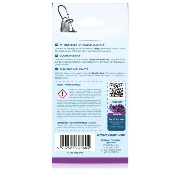 Zapach do odkurzacza Bosch BGL35 Move6/01 (Wessper, Lawenda)