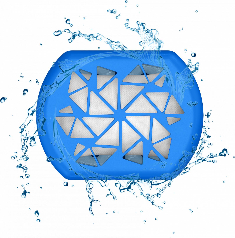 Pochłaniacz wilgoci Wessper HumiFill z wkładem 250g - Niebieski Neon