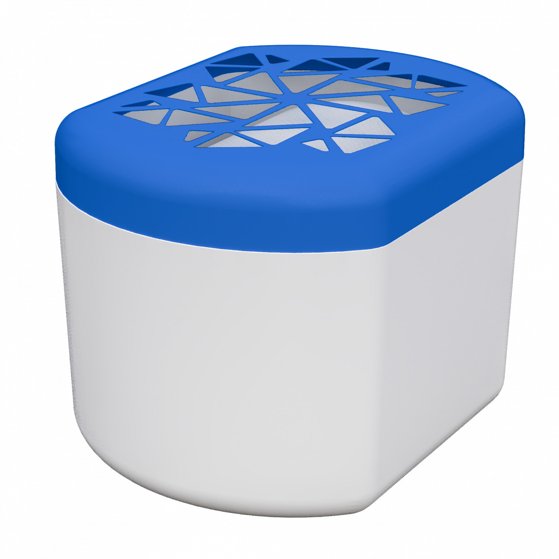 Pochłaniacz wilgoci Wessper HumiFill z wkładem 250g - Biało-błękitny