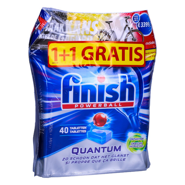 Finish Quantum tabletki do zmywarki 2x40 szt