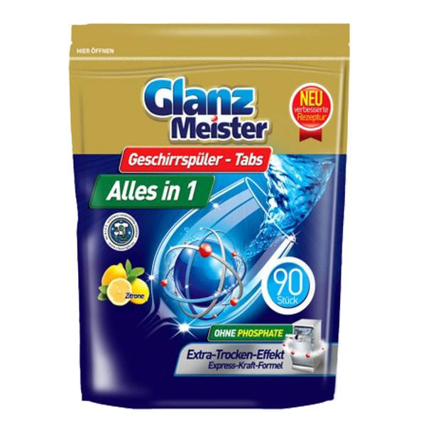 GlanzMeister Alles in 1 tabletki do zmywarki 90 sztuk