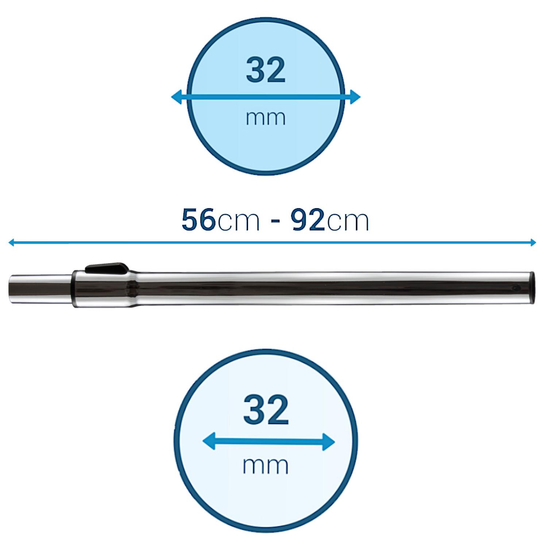 Rura teleskopowa do odkurzacza Zelmer Electrolux 32 mm