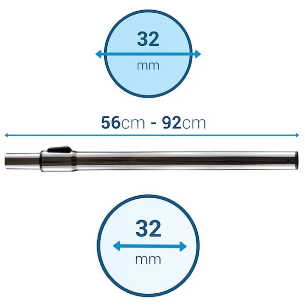 Rura do odkurzacza Zelmer Aquawelt (OEM, Teleskopowa)