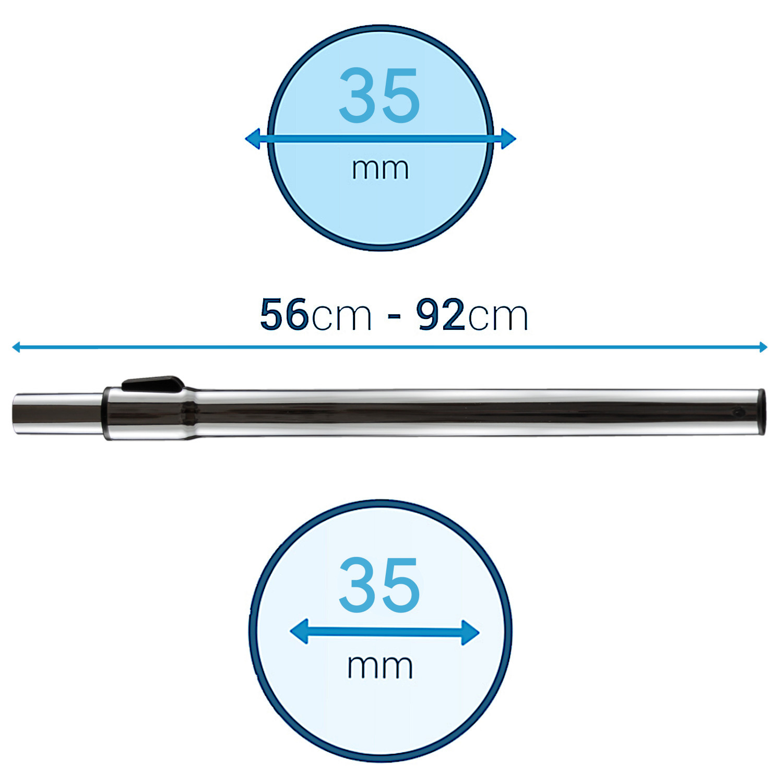 Rura teleskopowa Bosch, Samsung, Karcher 35 mm WD 2 WD 3 WD 4