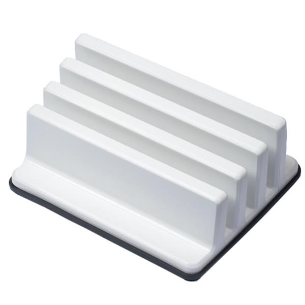 Practic Biały Stojak na deski pokrywki